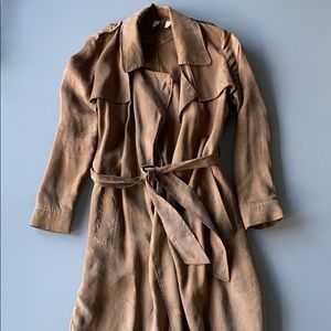 Anthropologie MOTH Trench Coat XS